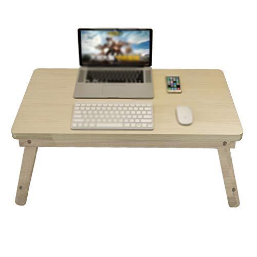 Erwachsene Laptop-schreibtisch (Bai Su Klapptisch, hölzernes Klappbett, das kleinen zusammenklappbaren Schreibtisch des Erwachsenen Laptopschreibtischs des kleinen Behälters des tragbaren Schreibtischs lernt (Size : 70X40X31cm))