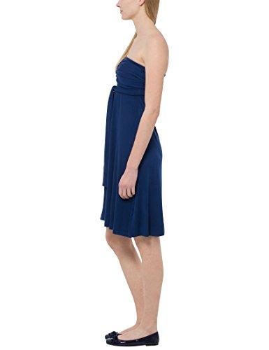 Berydale Damen Knielanges Multistyle Kleid mit 5 Tragevarianten Blau