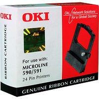 Preisvergleich Produktbild OKI Farbband schwarz 4000000 Zeichen für Microline 590 591 schwarz