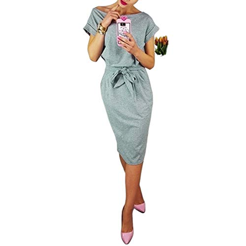 FeiXing158 O Neck Dress Robe Femme-in Kleider von - Flower Girl Satin Schuhe