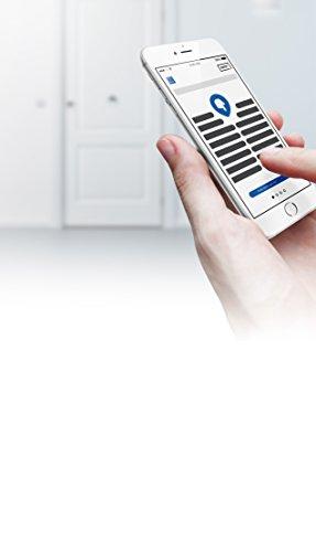 Tesa Assa Abloy ENTRKIT1T603035 Cerradura Inteligente Motorizada, Blanco, 30 x 35 mm