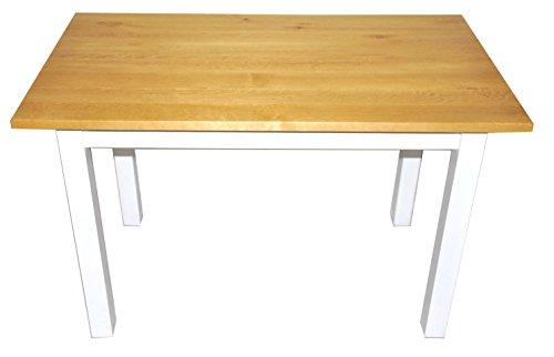 Esstisch Küchentisch Tisch Kiefer massiv Restaurant eckige Tischplatte 100 x 60 cm (Erle) -