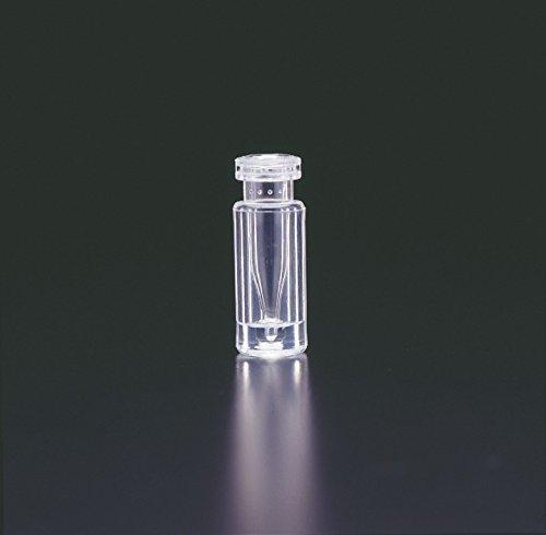 JG FINNERAN 30111g-1232a Glas/Kunststoff Limited Volume Snap Ring Crimp Top Ampullen, 100µl Kapazität, 12mm Durchmesser, 32mm Höhe, 11mm zudrücken, Bernstein (Fall von 100) (Snap Top-glas)