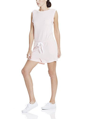 Bench Short Sweat Jumpsuit, Combinaison Femme Rosa (Pink PK11197)