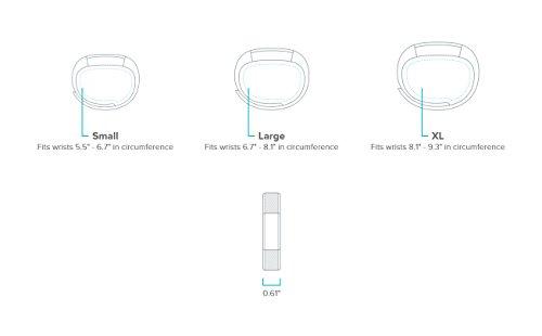Fitbit Unisex Fitness Armband Alta, Türkis S - 8