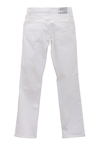 Oklahoma Regular Fit 5-Pocket-Stretch-Jeans Damen A606WS Weiß