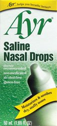Ayr Saline Nasal Gel - No-Drip Sinus Spray