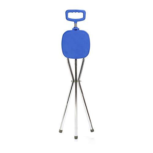 Einstellbare Klapp Cane Stuhl Massage Cane Seat Walker Tragbarer Cane Hocker Geeignet Für Ältere Menschen -