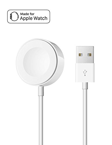 [MFi Certificado] Apple Watch Cargador, OPSO Magnetic Cable de carga para Apple Watch / iWatch 38mm y 42mm - 6.6 Feet (2 metro)