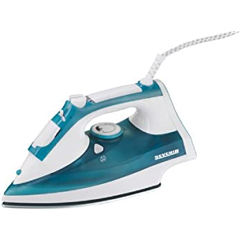 Severin - 3241 - Fer Vapeur - 2400 W - 300 ml - semelle inox avec revêtement céramique - blanc / bleu vert