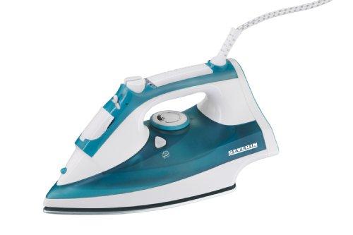 severin-3241-fer-vapeur-2400-w-300-ml-semelle-inox-avec-revtement-cramique-blanc-bleu-vert