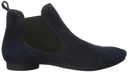 Think! Damen Guad Chelsea Boots Blau (WATER/KOMBI 86)