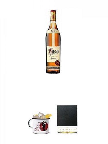 Asbach Uralt klassischer deutscher Weinbrand Magnumflasche 3,0 Liter + Asbach The Big Buck Tasse...