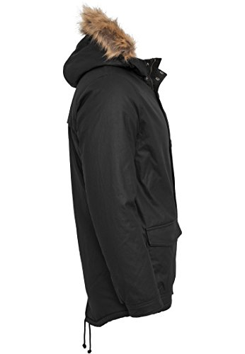 TB896 Coated Nylon Parka Winter Jacke Herren Kapuze - 6