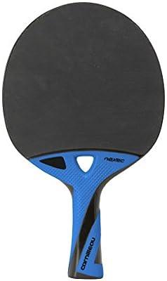 Cornilleau Nexeo X90 Carbon Raqueta Tenis de Mesa, Color Azul y Negro