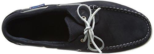 QUAYSIDE Unisex-Erwachsene Alderney Bootsschuhe Blau - Blau (Marineblau)