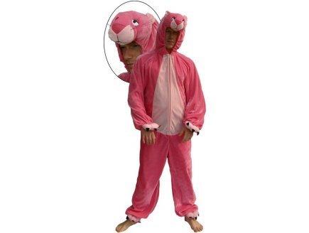 Kostüm Pinkfarbener Panter Gr. XL = (Pink Kostüm Panther)