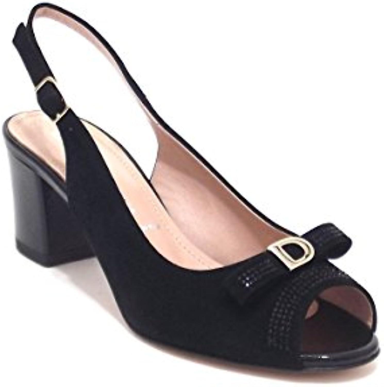 Donna Serena scarpe donna, modello 5991, sandalo in camoscio, Coloreeee Coloreeee Coloreeee nero | Specifica completa  | Scolaro/Ragazze Scarpa  0b0a41
