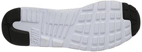 Nike Air Max Tavas, Chaussures de Running Compétition Homme Multicolore (White / Black / Paramount Blue)