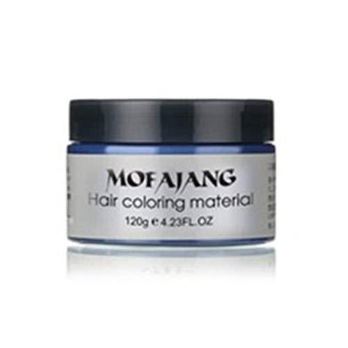 Kongqiabona Praktische temporäre Haarfärbecreme Haarfarbe Wachsschlamm Einmalige Modellierpaste Haarfärbecreme -