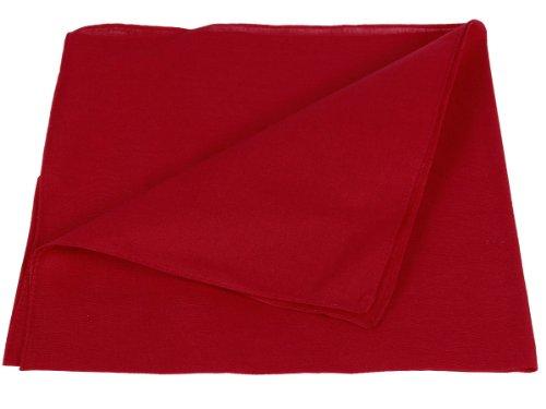 Bandana Zandana einfarbig Kopftuch Halstuch uni Farben 100% Baumwolle, Farbe wählen:pink