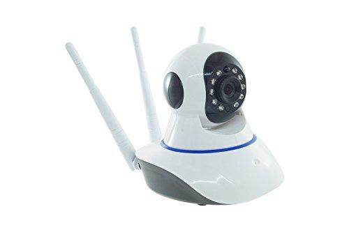 Ip Camera Wi-Fi 3 Antenne 720p 1080p HD Motorizzata