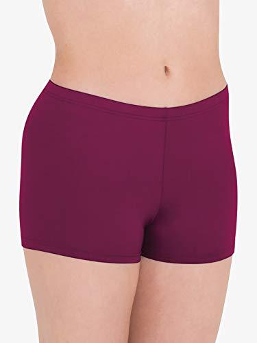 Bodywrappers Damen Microtech Athletic Boy-Cut Short - rot - X-Groß (Boy Shorts Cut)