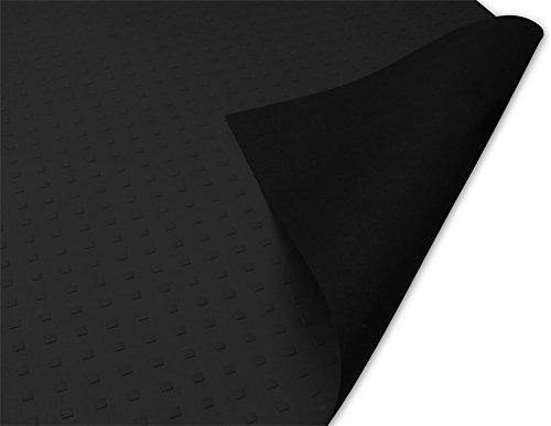 Preisvergleich Produktbild normani Antirutschmatte Rutschhemmende Matte für Transporter,  PKW Oder LKW 158 x 120 cm,  Strukturprägung auf der Front,  Extrem Robust und strapazierfähig Farbe Schwarz