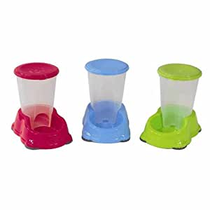 Smart Sipper Drinker Water Bowl for Cats and Dogs Fun Colours 1.5 Litre