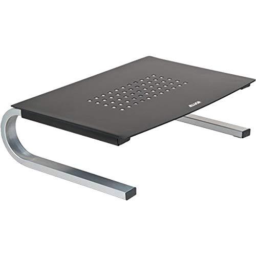 Redmond Monitor Stand, 14 5/8 x 11 x 4 1/4, Black/Gray/Silver