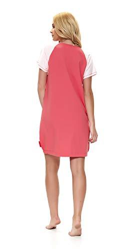 TM.8061/in 100/% cotone DN-nightwear/ /Camicia da notte Premaman// da allattamento