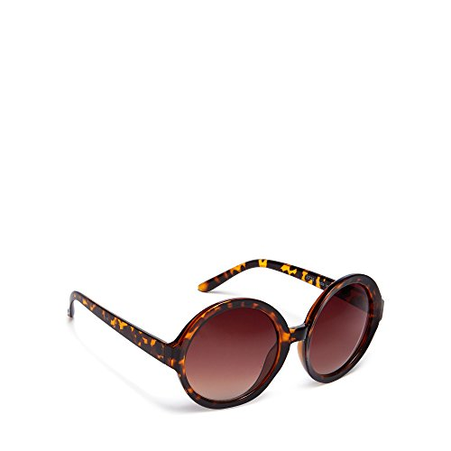 floozie-by-frost-french-womens-brown-tortoise-shell-round-sunglasses
