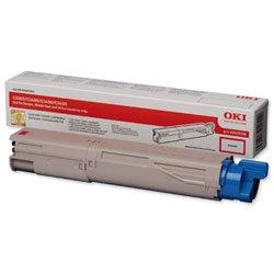 Oki-magenta-laser (Brandneu. Oki Laser-Tonerkartusche, Seitenleistung 2.500magenta [für C3450] Ref 43459330)