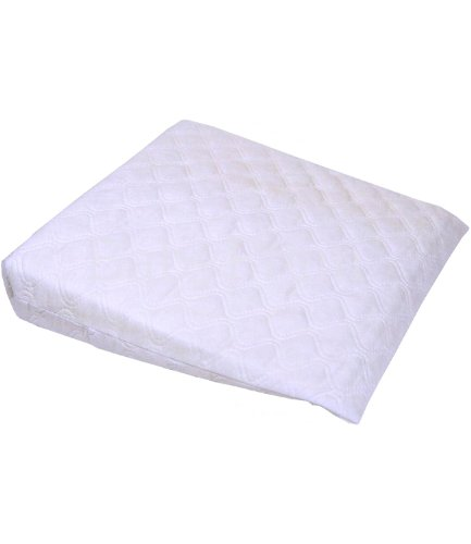 BabyPrem Baby Bettwäsche Keil Kissen Für Krippen Wiegen Gitterbett Anti Kolik 40 x 36cm