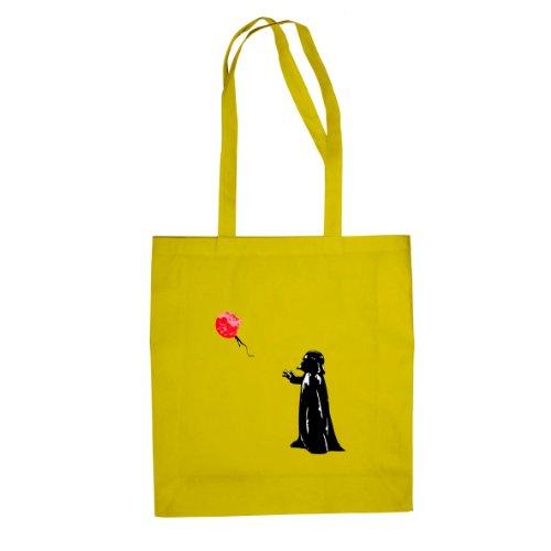 Vader Death Star Balloon - Stofftasche / Beutel Gelb