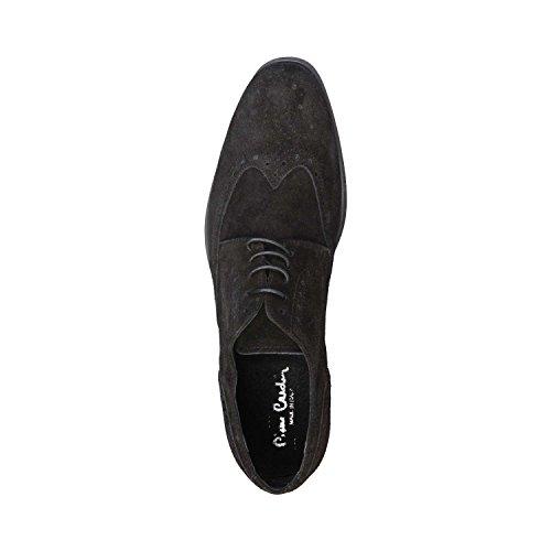 PIERRE CARDIN ARIEL Brogue Chaussures De Ville À Lacets Homme Noir
