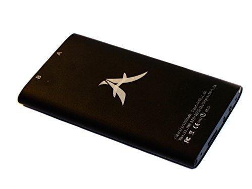 Mobile mini Spion Kamera in einer Powerbank in einem edlen Alugehäuse. PowerCam, Überwachungskamera mit Bewegungsmelder. Spy- Cam 1080p Farbe schwarz