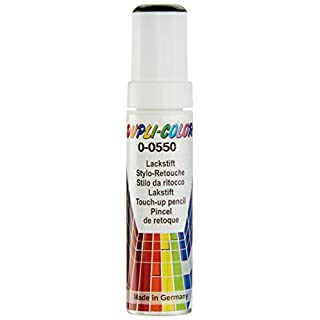 Dupli-Color 598401 Lackstift Auto-Color DS schwarz 0-0550 gl. 12ml, Black