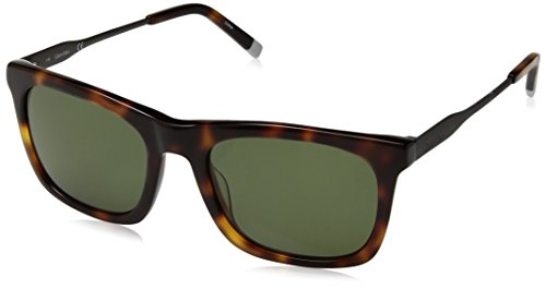 Calvin klein wrap eye, occhiali da sole uomo, marrone (shiny tortoise), 54