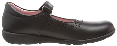 Start Rite Emily Narrow, Mary Jane fille Noir (Black)