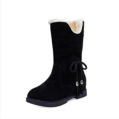 Women Shoes, Snow Boots Winter Ankle Boots Women Shoes Heels Winter Boots...