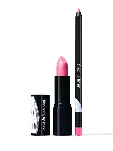 FIND - Pink Attraction (Lippenstift, glänzend n.5 + Lippenkonturstift n.10)