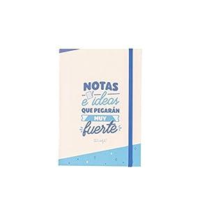 Mr; Wonderful Woa09060Es Libreta Con Notas Adhesivas Notas E Ideas Que Pegarán Muy Fuerte