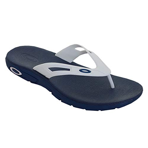 Oakley 15204-60B-7 Ellipse Flip Blu Navy UK 7 Flip Flop