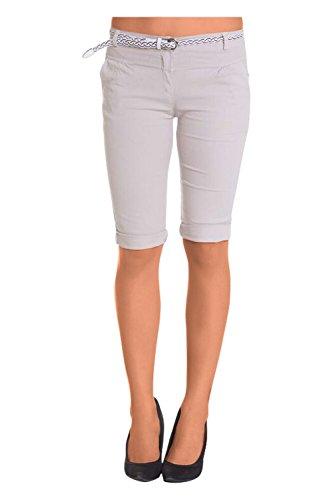 Damen Shorts, ( 454), Grösse:44 XXL, Farbe:Beige