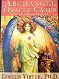 Archangel Oracle Cards by Doreen Virtue - 45 Card Deck with Guidebook on how to get answers to the important questions inyour life from the Angels - Sold by Spiritual Gifts. Usually dispatched within 2 working days. by Spiritual Gifts