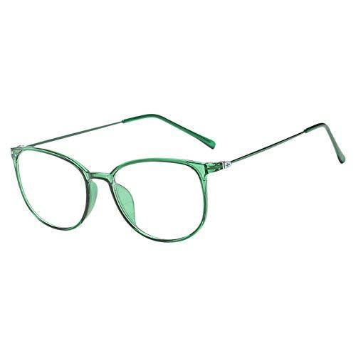 Xinvision Klassische Nerdbrille,Modische Leicht Rahmen Brillenfassung Klare Linse Vintage Brille...