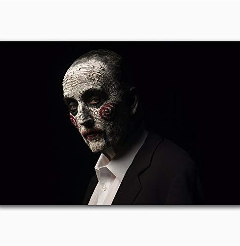 NOVELOVE Wandkunst Bild Puzzle 2017 Hot Horror Classic Movie Poster Drucken Leinwand Malerei Ohne Rahmen 40 * 60 cm (Poster Classic Horror Movie)