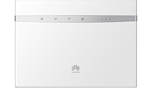 Huawei B525s-23a blanc Routeur 4G+ LTE LTE-A Catégorie 6 Gigabit WiFi AC 2 x SMA pour antenne externe (Blanc)