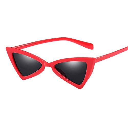 Makefortune Frauen Sonnenbrillen, Frauen-Weinlese-Katzenaugen-Sonnenbrille-Retro- kleiner Rahmen UV417 Eyewear arbeiten Damen-Gläser um ...
